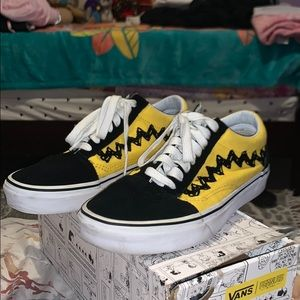 Charlie Brown Vans